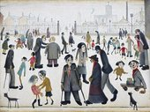 LS Lowry, The Cripples 1949