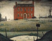 LS Lowry, The Empty House 1934