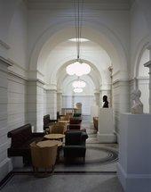 Tate Britain Members Room - corridor shot