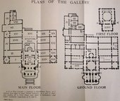 Plan of Tate Gallery in 1914