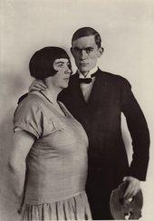 August Sander The Painter Anton Räderscheidt and his Wife Marta Hegemann c.1925