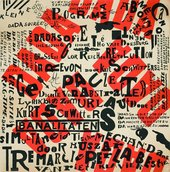 Theo van Doesburg Poster Small Dada Soirée. Dada tour of the Netherlands 10 January 14 February 1923