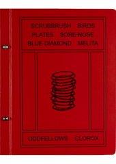 Robert Therrien RED BOOK 2000-7