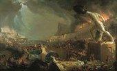 Thomas Cole The Consummation of Empire: Destruction