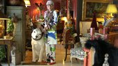 Iris Apfel dresses for Matisse