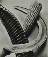 Tina Modotti, Bandelier, Corn and Sickle, 1927