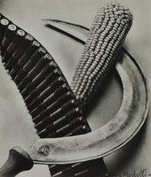Tina Modotti, Bandelier, Corn and Sickle, 1927