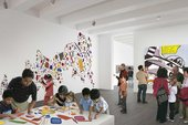A concept view of the new children's gallery on Level 4 at Tate Modern