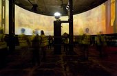Steve Farrer's film installation The Machine in the oil tanks at Tate Modern