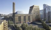 Concept view of the new Tate Modern building from the West