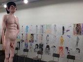Turner Prize 2013 David Shrigley Life Model 2012 (installation)