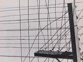 Geraldo de Barros Sem títlo (Fios telegráficos) 1950s