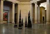 Installation view of Turner Prize: A Retrospective exhibition