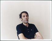 Richard Wright in his studio 2009