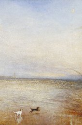 Turner, The New Moon; or I have Lost My Boat, You Shant Have Your Hoop (detail)