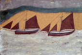 Two Boats Alfred Wallis