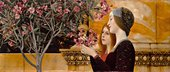 Gustav Klimt Two Girls with an Oleander c.1890-92