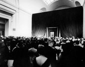 Abbie Rowe The unveiling of the Mona Lisa at the National Gallery of Art, Washington DC, 8 January 1963