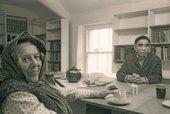 Winifred Nicholson and Li Yuan-chia in Cumbria, 1975