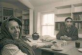 Winifred Nicholson and Li Yuan-chia in Cumbria, 1975