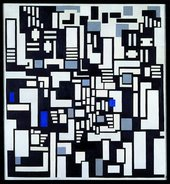 Theo van Doesburg Composition IX 1917-18