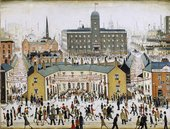 L. S. Lowry VE Day 1945