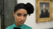 Singer-songwriter Lianne La Havas in a gallery at Tate Britain