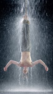 Bill Viola, still image from Martyrs (Earth, Air, Fire, Water) 2014