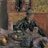 Edouard Vuillard Woman Reading 1910