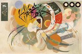 Wassily Kandinsky Dominant Curve April 1936