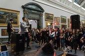 Loyle Carner performs at BP Loud Tate: Code in 2014 at Tate Britain