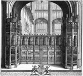 Wenceslaus Hollar Tomb of Edward IV, Windsor c.1665–6