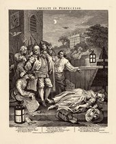 William Hogarth  The Four Stages of Cruelty: Cruelty in Perfection 1 February 1751