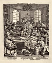 William Hogarth  The Four Stages of Cruelty: The Reward of Cruelty 1 February 1751