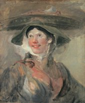 William Hogarth The Shrimp Girl c.1740 - 1745
