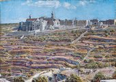 William Holman Hunt, Bethlehem from the North, 1892/93