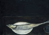 William Scott Mackerel on a Plate 1951–2