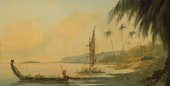 William Hodges View from Point Venus, Island of Otaheite