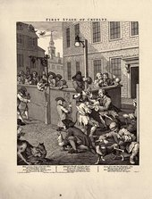 William Hogarth Stages of Cruelty: First Stage of Cruelty 1751
