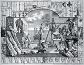 William Hogarth The Analysis of Beauty, Plate 1 1753