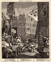 William Hogarth Beer Street 1751