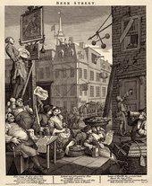 William Hogarth Beer Street 1751