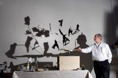 William Kentridge with his works for Da Capo