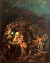 Joseph Wright A Philosopher by Lamplight 1769
