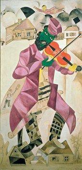 Marc Chagall, Le violoniste vert, 1919