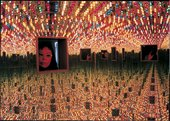 Yayoi Kusama  Infinity Mirrored Room Love Forever 1966 remade 1994 Installation view
