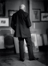 "Yva Max Liebermann, from the series ""Celebrities from behind"", before 1930"