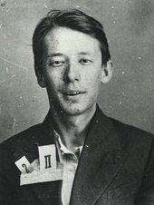 Fig.8 NKVD arrest photograph of Yevgeny Polyakov, born 1910, translator