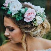 Cornish Flower Crown Making Workshop by Annabelle Cowling