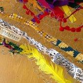 Weaving round sculpture© Tate